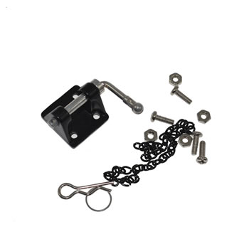 Metal Trailer Tow bar with mounting base for 1/10 Scale RC Rock Crawler